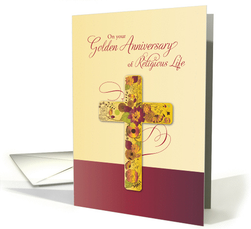Golden Anniversary of Religious Life for Nun, 50 Years,... (1295016)