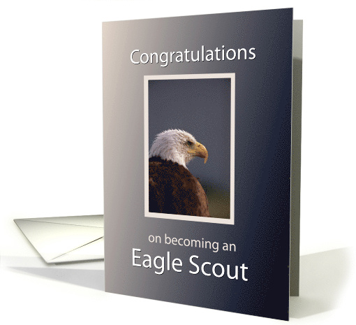 Eagle Scout Congratulations card (418073)