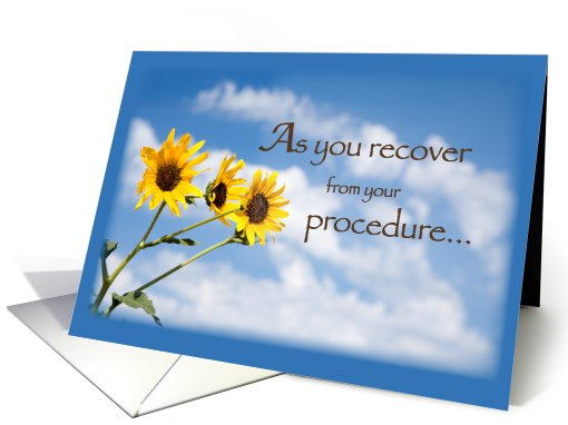 Recover from Procedure Daisies card (557650)
