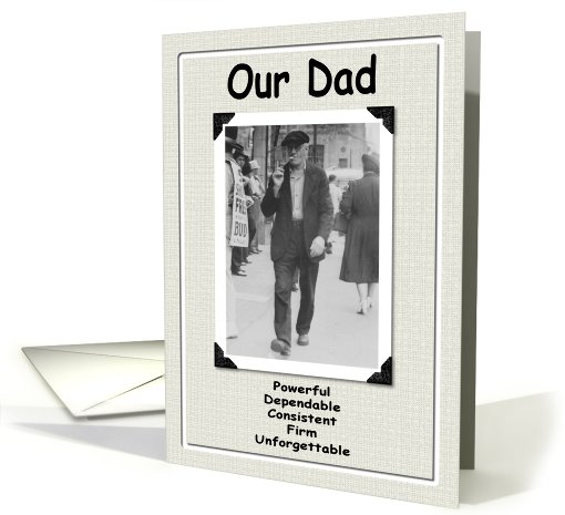 Our Dad the old Fart card (194185)