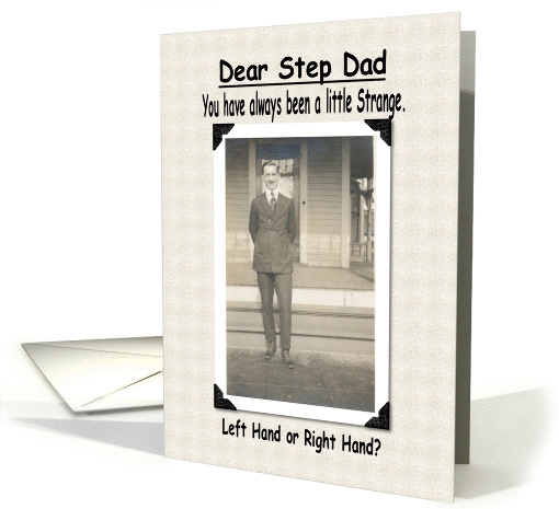 Birthday - Step Dad card (210983)