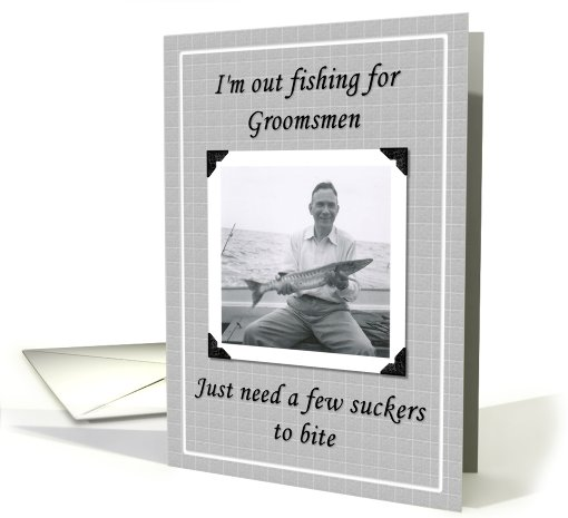Will you be my Groomsman card (246287)