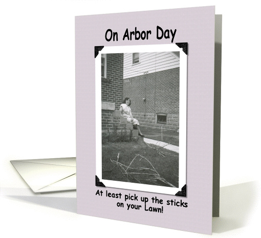 Arbor Day Effort card (249041)
