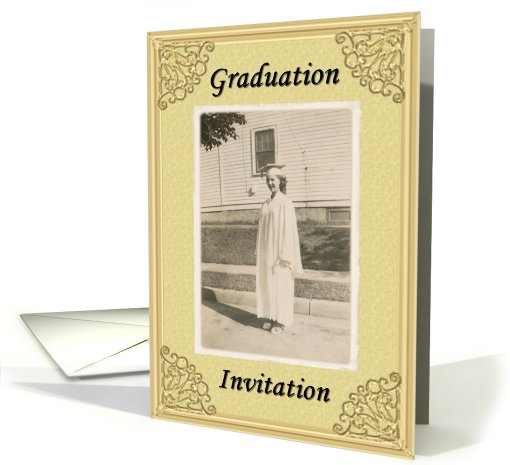 Graduation Invitation card (424001)
