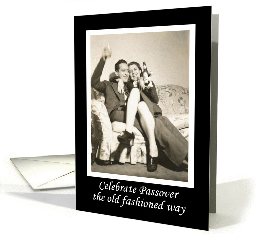 Celebrate Passover card (496749)
