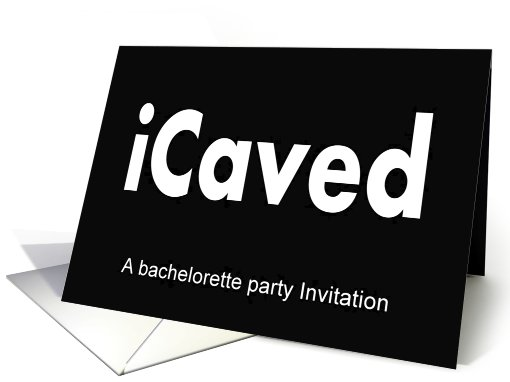 Bachelorette Party invitation card (584895)