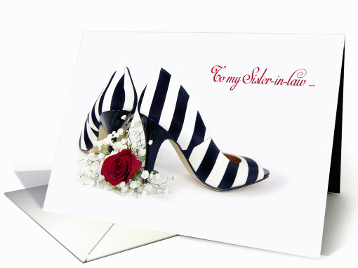 Matron of Honor request for Sister-in-law - striped pumps... (1247674)