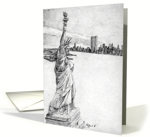 The Statue of Liberty card (164109)