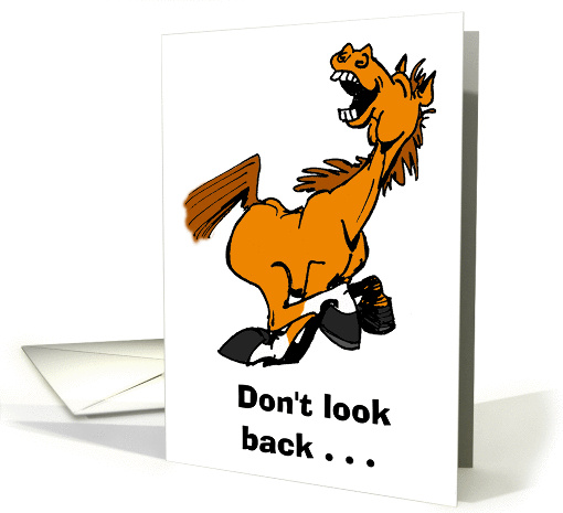 Don't Look Back card (201930)