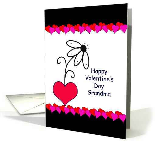 For Grandma/Grandmother Valentine's Day Greeting... (544855)