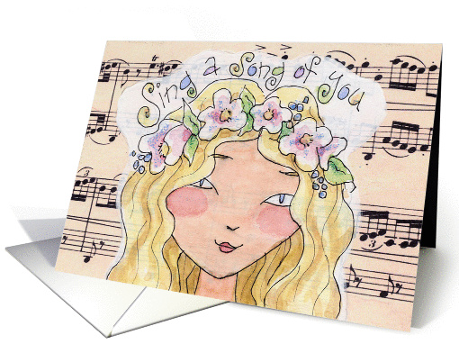 Happy Birthday! Music Song card (924233)