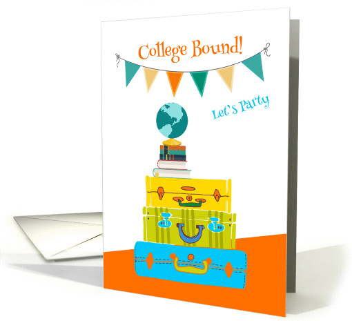 Going to College, Travel Theme Invitation card (1382614)