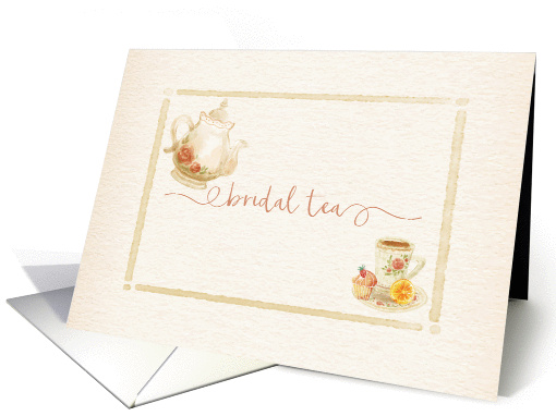 Bridal Shower Tea Invitation card (1412930)