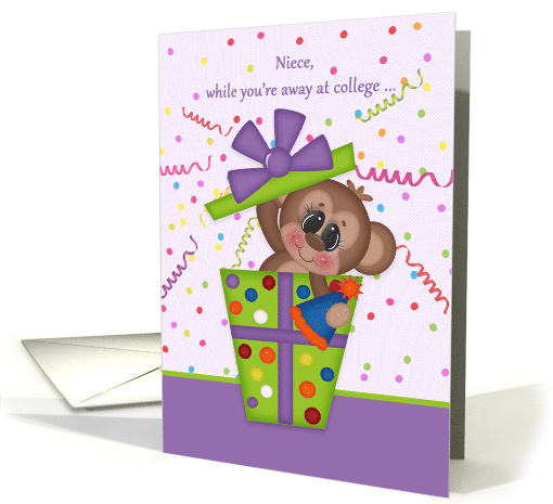 For Niece Birthday While Away at College card (1528214)