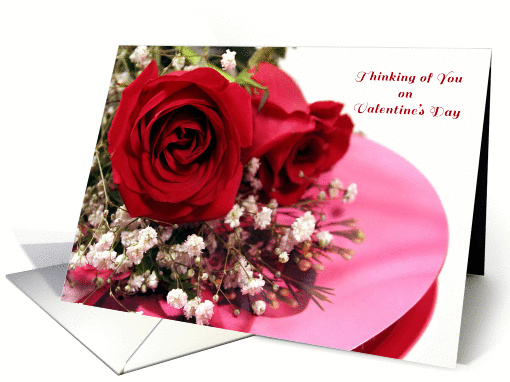 Valentine Roses, Candy Box card (330708)