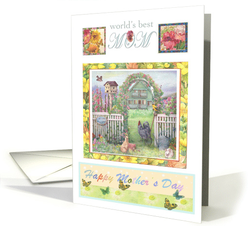 Best daughter in law,Mother's Day garden illustration card (934006)