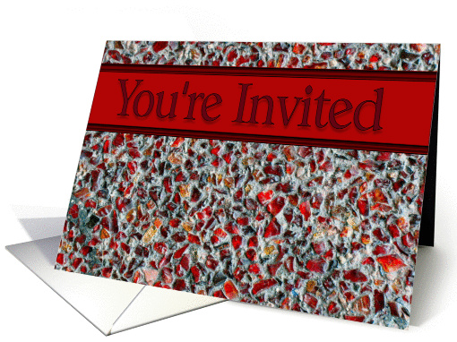 You're Invited card (218387)