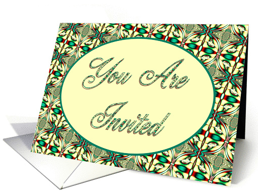You Are Invited card (311804)