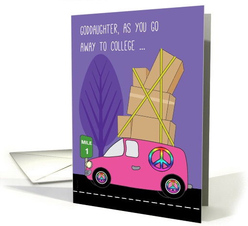 Goddaughter Away to College in a Pink Van on the Road to... (432534)