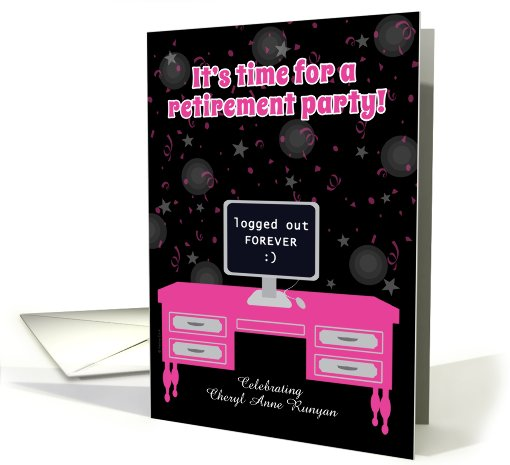 Retirement Party Invitation Administrative Assistant... (937014)