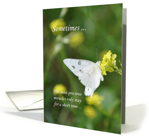 Miscarriage Sympathy card (847692)