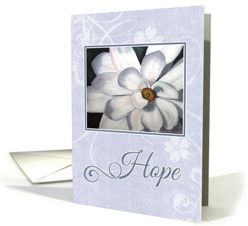 Blue Hope for Cancer card (529691)