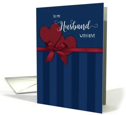 Birthday to my Husband with Love card (771152)