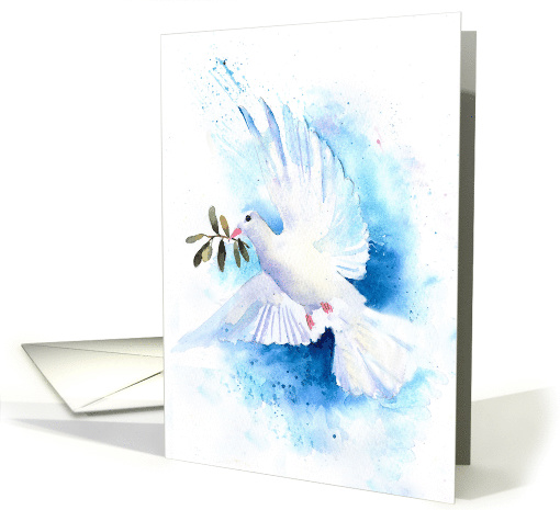 Dove of Peace Blank Any Occasion card (1505548)