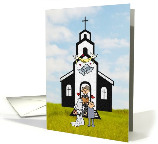 Thank You Clergyman for Preforming our Wedding Ceremony card (671662)
