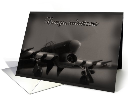 Air Force Commissioning Congratulations Card - Hawker... (630631)