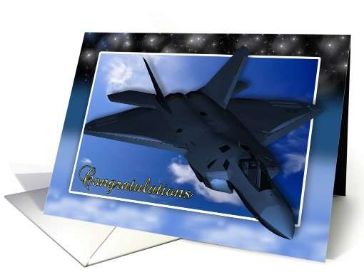 Air Force Commissioning Congratulations card (630699)