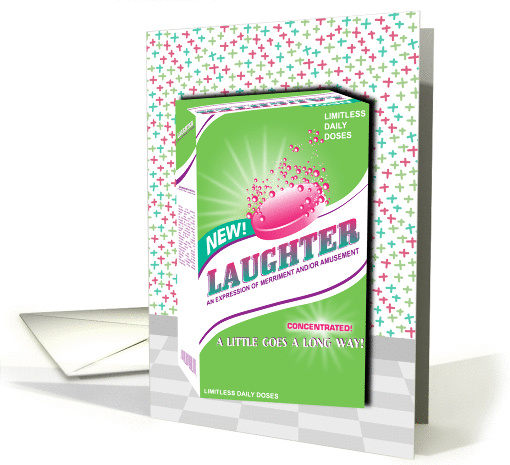 Effervescent Laughter Get Well Soon card (1044857)