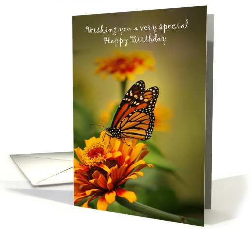 Butterfly card (508715)