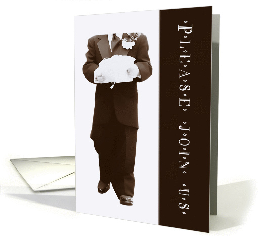 Please Be My Ring Bearer (Wedding) card (358943)