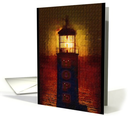 A Lighthouse of Hope in this Darkness card (323454)