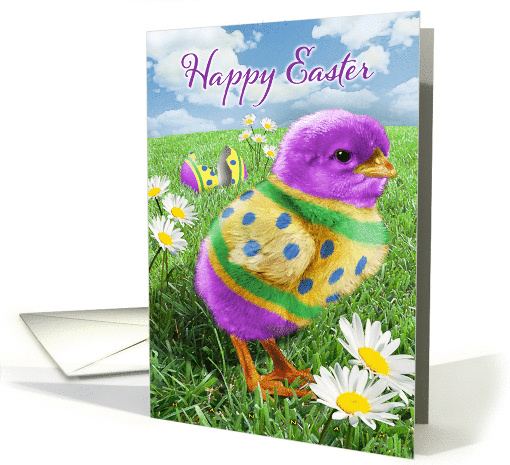Easter Chick card (896933)
