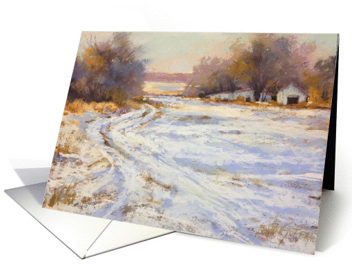 Custer County Winter card (1408216)