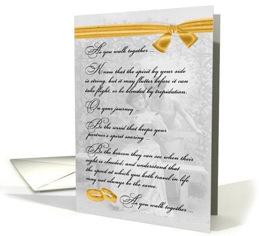 for Two Brides Lesbian Wedding Congratulations card (937851)