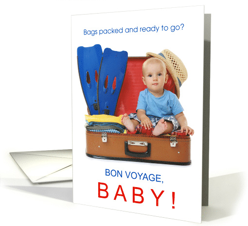 Bon Voyage Baby Funny Bags are Packed card (1472250)
