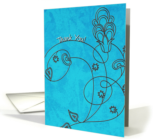A Cheery Thank You card (1070375)