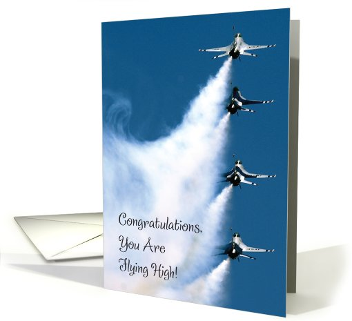 Congratulations / Air Force Commission card (630364)