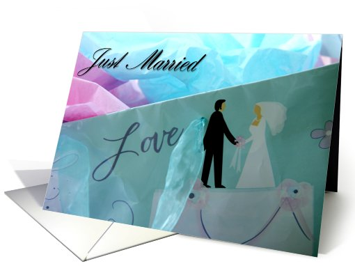Just married card (493015)