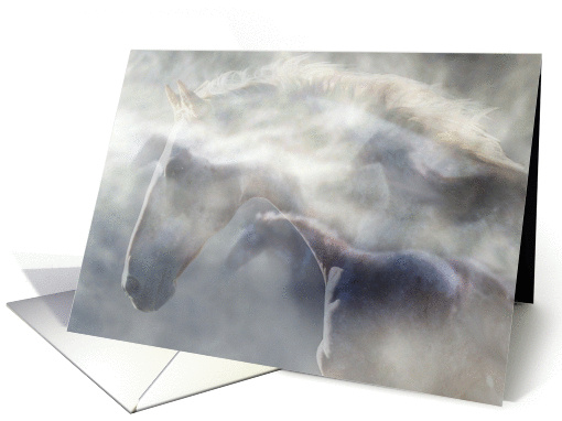 Spirit of the Horse Sympathy card (654573)
