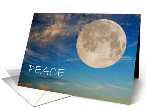 Peace Moon card (538471)
