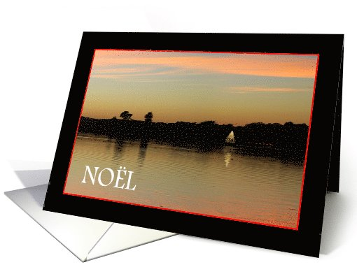 Christmas tree Noel on the Bay card (717640)
