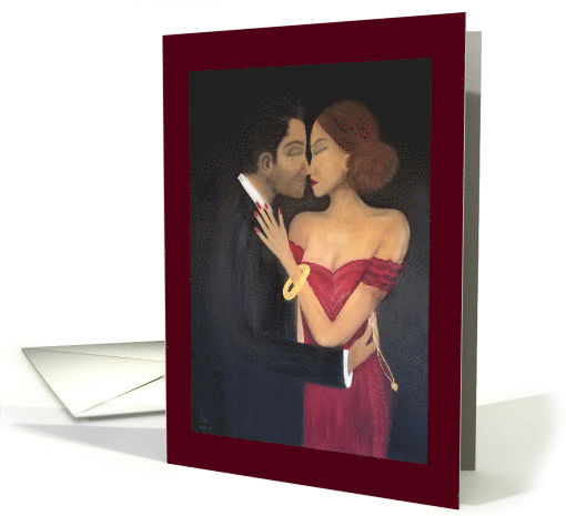 Thief Of Hearts Thinking Of You Adult Love and Romance card (1493814)