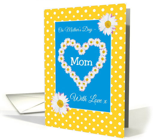 Mother's Day Card, Mom, Daisy Chain, Polka Dots card (1268276)