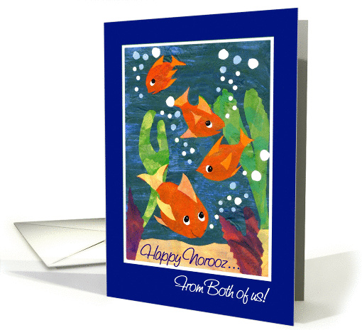 Norooz Card,Goldfish, From Both of Us card (905924)