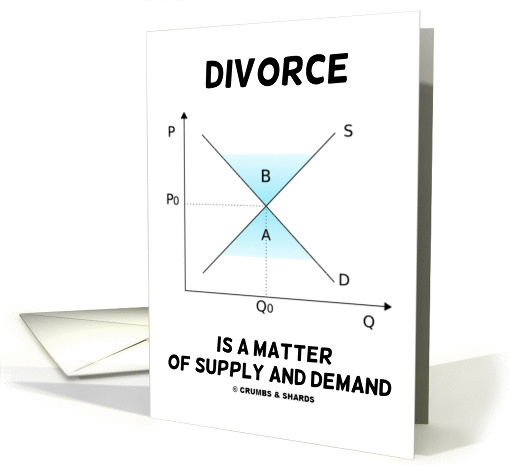 Divorce Is A Matter Of Supply And Demand (Supply And... (851804)