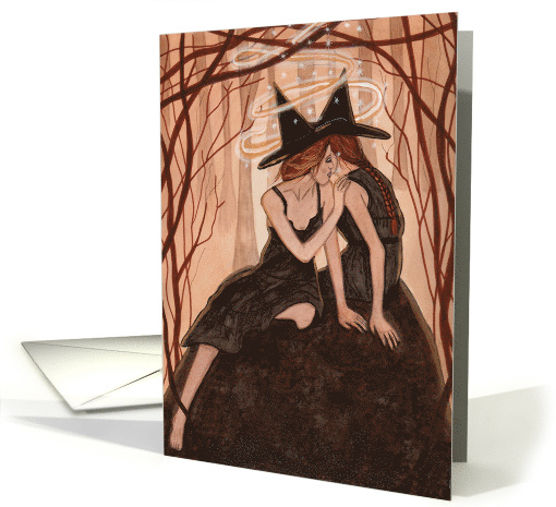 Whispers Only Sisters Understand - Witch Art card (604226)